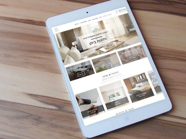 הקמת אתר מכירות לוילונות ביתן