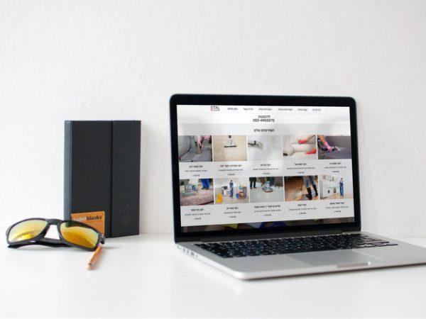 הקמת אתר לחברת ניקוי