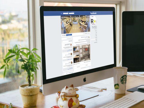 ניהול רשתות חברתיות לרהיט פלוס